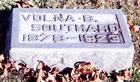 Volna Blackburn Southard's stone