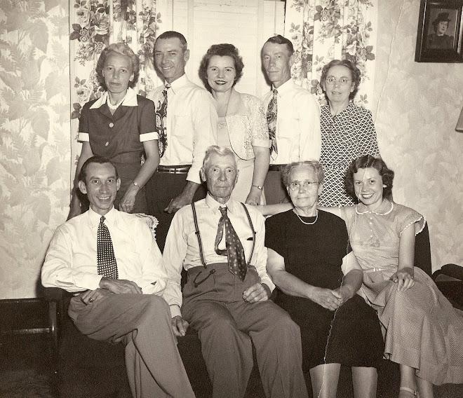 Aunt Susan Southard Chapman's Family, 1957