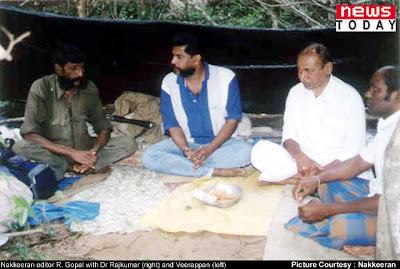Veerappan - Gopal conversation  Dr Rajkumar kidnap saga