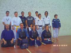 Grupo Dojo San Rafael Julio 2009