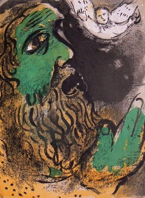 Chagall: Job at Prayer.