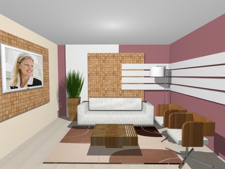 Projeto Sala - Painel mosaico