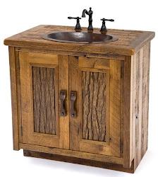 Bancada Banheiro Rustica