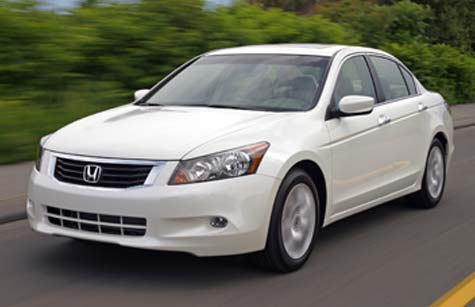 x to x cars: honda accord 2009