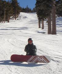 Snowboarding, Lake Tahoe
