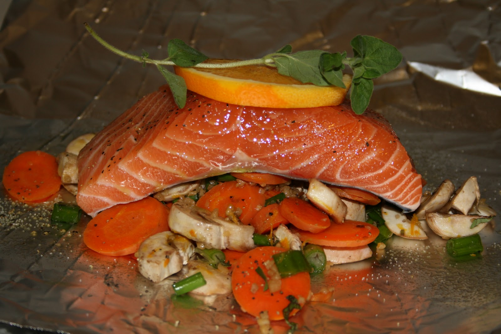 It really is that easy to make recipe 79 salmon for Fish foil packets oven