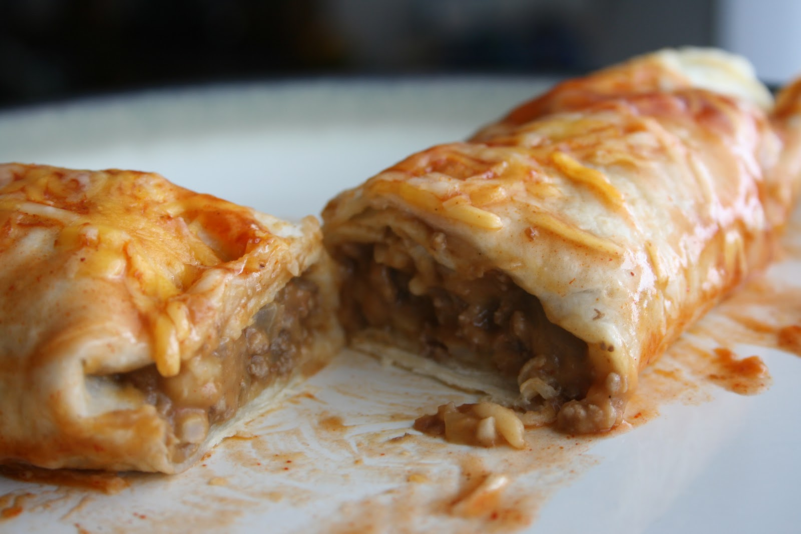 It really IS that easy to make...: Recipe #89: Easy Beef Enchiladas