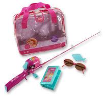 World class stupid for Barbie fishing pole
