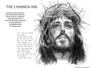 jesus christ crown of thorns black and white picture