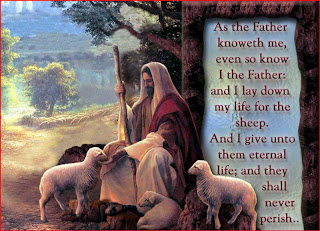 God Jesus Christ with sheep and like a Shepard download free religious Christian image