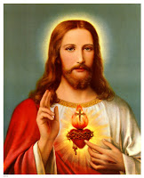Christ's Sacred heart drawing image with Cross free download religious drawings and Christian background pictures for desktop