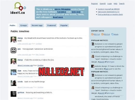 how to add others twitter on website