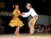 Pareja de baile llanero
