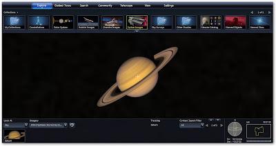 WorldWide Telescope - Saturno