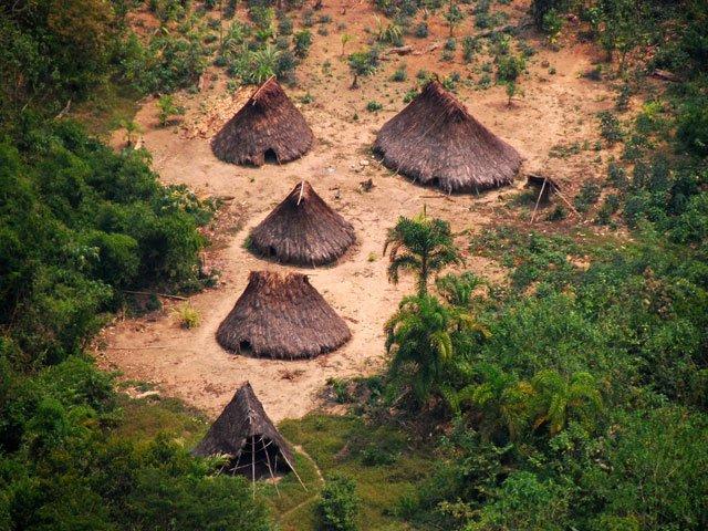 Encuentran Indigenas Sin Contacto Con El Exterior Nunca