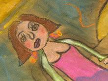 dessin d'enfant  projet artistique à l'école Anatole France  Roubaix 2005/2006 classe de cm2