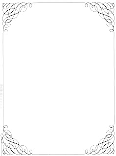 Free Vintage Clip Art - Calligraphy Borders and Frames