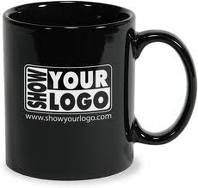 Mug with your logo - Black