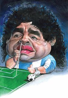 Santa Maradona!!