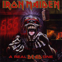Portada Iron Maiden a real dead one