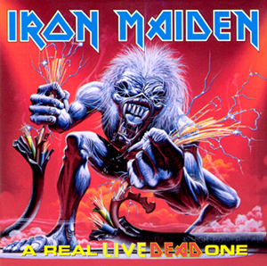 Portada Iron Maiden a real live dead one
