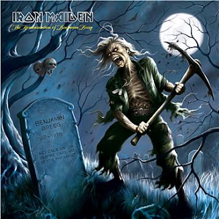 Portada Iron Maiden the reincarnation of benjamin breeg
