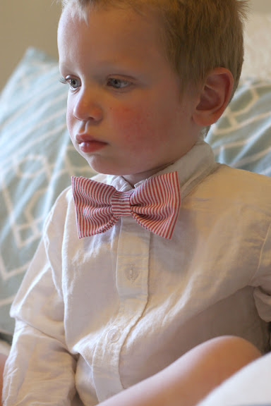 simple toddler bowtie tutorial