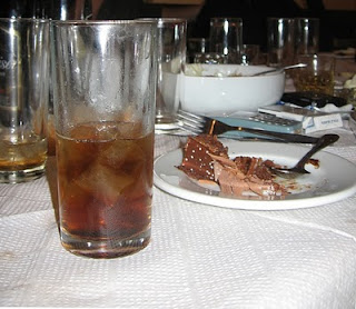 glass consumed refreshments