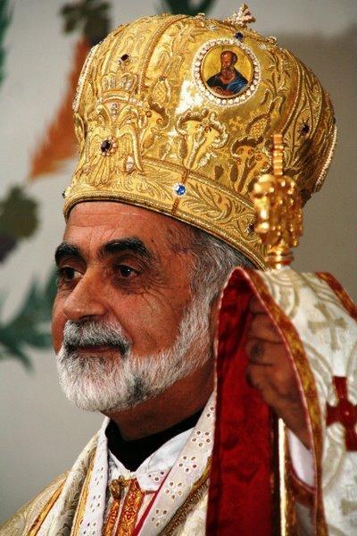 Chefe da Igreja Greco-Melkita Católica no Brasil