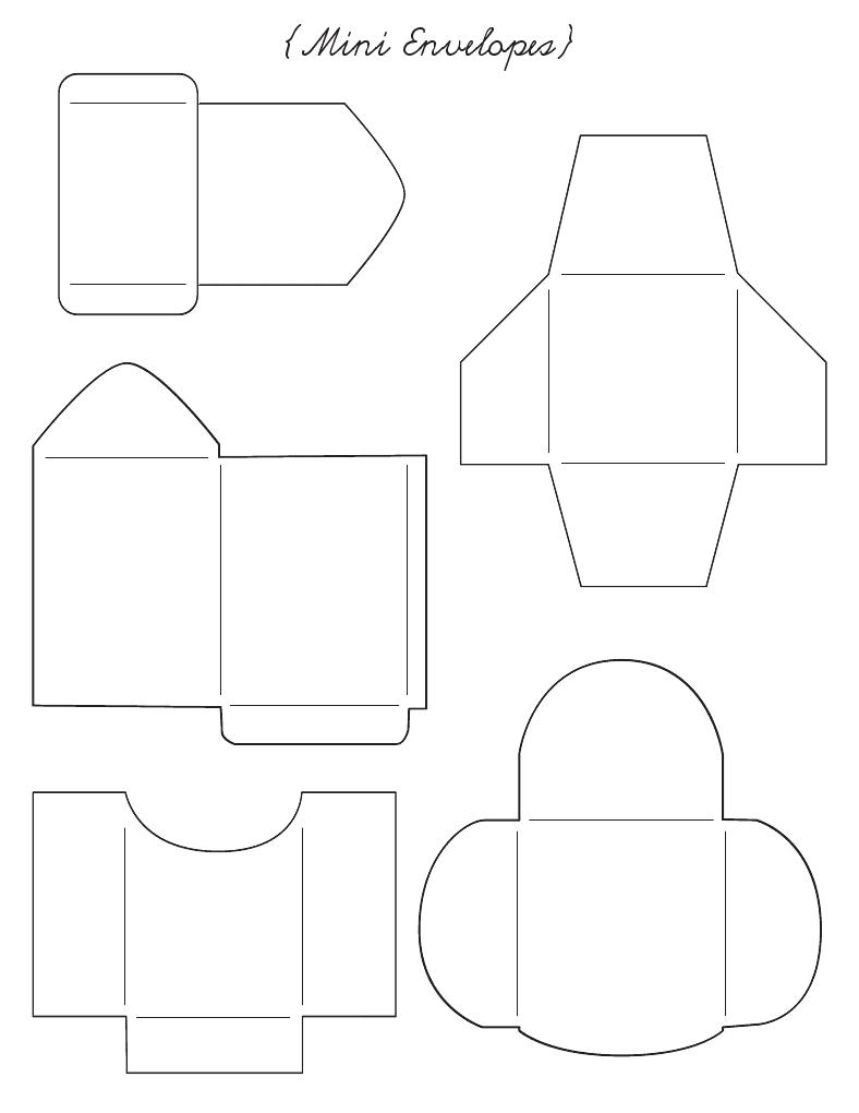 envelope templates  envelopes and templates on pinterest