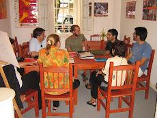 Reunión con Antoni Traveria de la Casa America