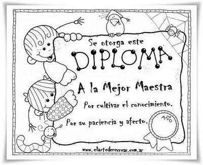 Diplomas Para Ni�os. diplomas muy merecidos,