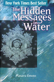 One of the books from Masaru Emoto
