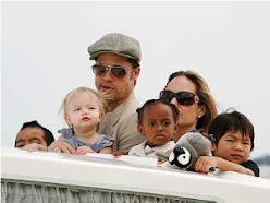 Brad and Jolie