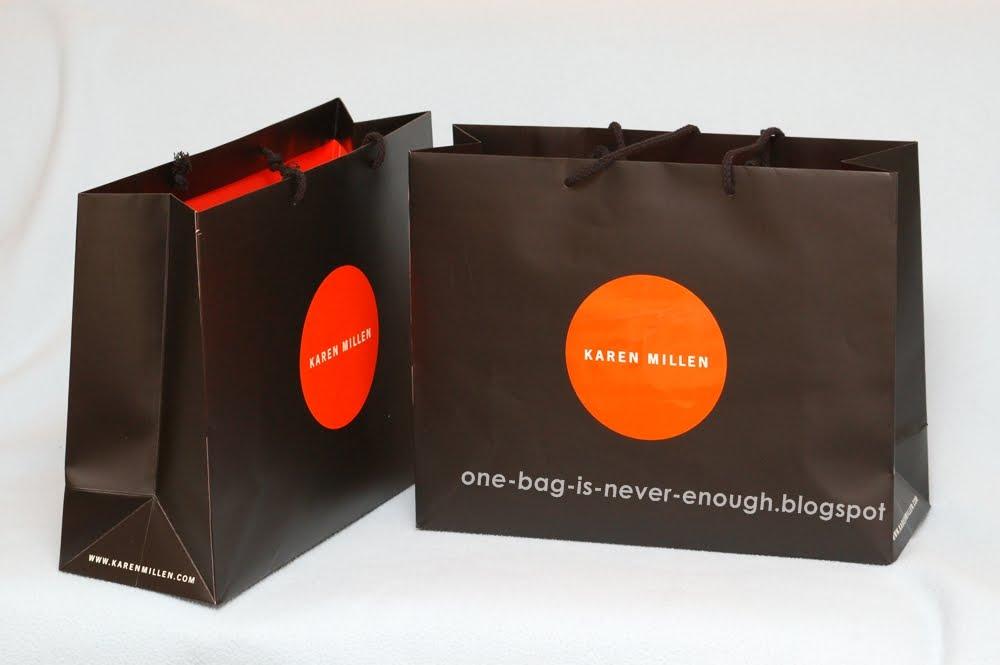 b1b511aaab44 Satu beg tangan tak akan cukup  Karen Millen Rebel Chic Soft Washed ...