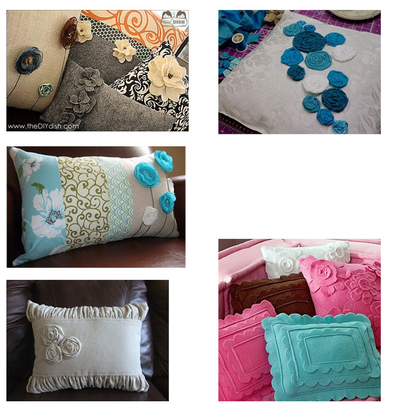 Round Throw Pillows For Couch : WhimsiKel: Throw Pillow Round-Up