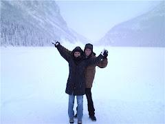 Canadá 2010 - Neve, neve, neve... (Lake Louise)