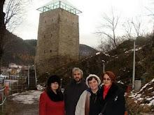 Cu poetii Florin Caragiu, Liliana Ursu si Carmelia Leonte, la Brasov, 2008
