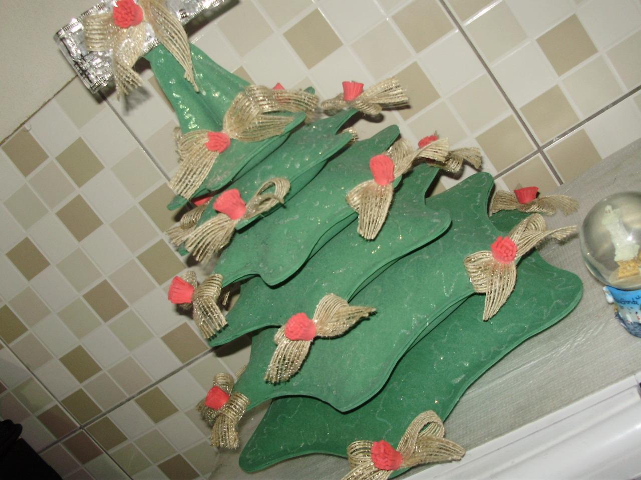 decoracao em arvore de natal : decoracao em arvore de natal:Decoração de festas e lembrancinhas.: Arvore de natal em eva