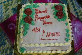 kek di hari persandingan ku.....