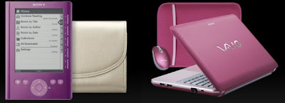 SON'y ereader and viao for Breast Cancer Awareness Month