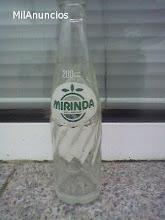 Botella de Mirinda...