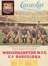 Cacaolat y el Barça, con Kubala entre otros...