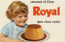 Flan Royal... me sentaba en la cocina para ver cómo lo hacía mi madre... olía delicioso.