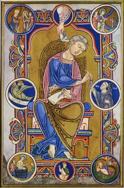 [Iluminura.+São+João+Evangelista,+do+Evangelho+do+Abade+Wedricus.+1147..jpg]