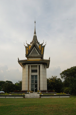 genocide memorial building in Cambodia