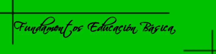 [ Fundamento Educación Básica ]
