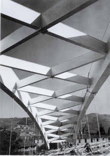 El arco de San Mamés en 1953