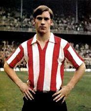 Javier Clemente en su etapa como jugador del Athletic Club