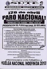 PARO NACIONAL 28 DE ABRIL